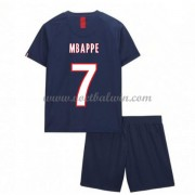 Paris Saint Germain PSG Voetbaltenue Kind 2019-20 Kylian Mbappe 7 Thuisshirt..